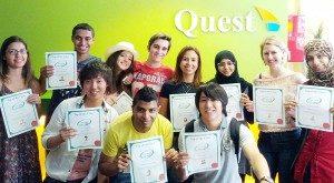 Quest Language 生徒の声