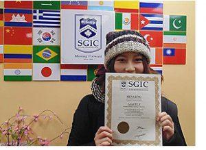 SGIC Toronto 生徒の声
